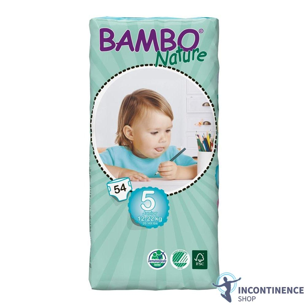 16-30kg Junior Nappies Bambo Nature Size 6 - 3 Packs of 44-1180ml