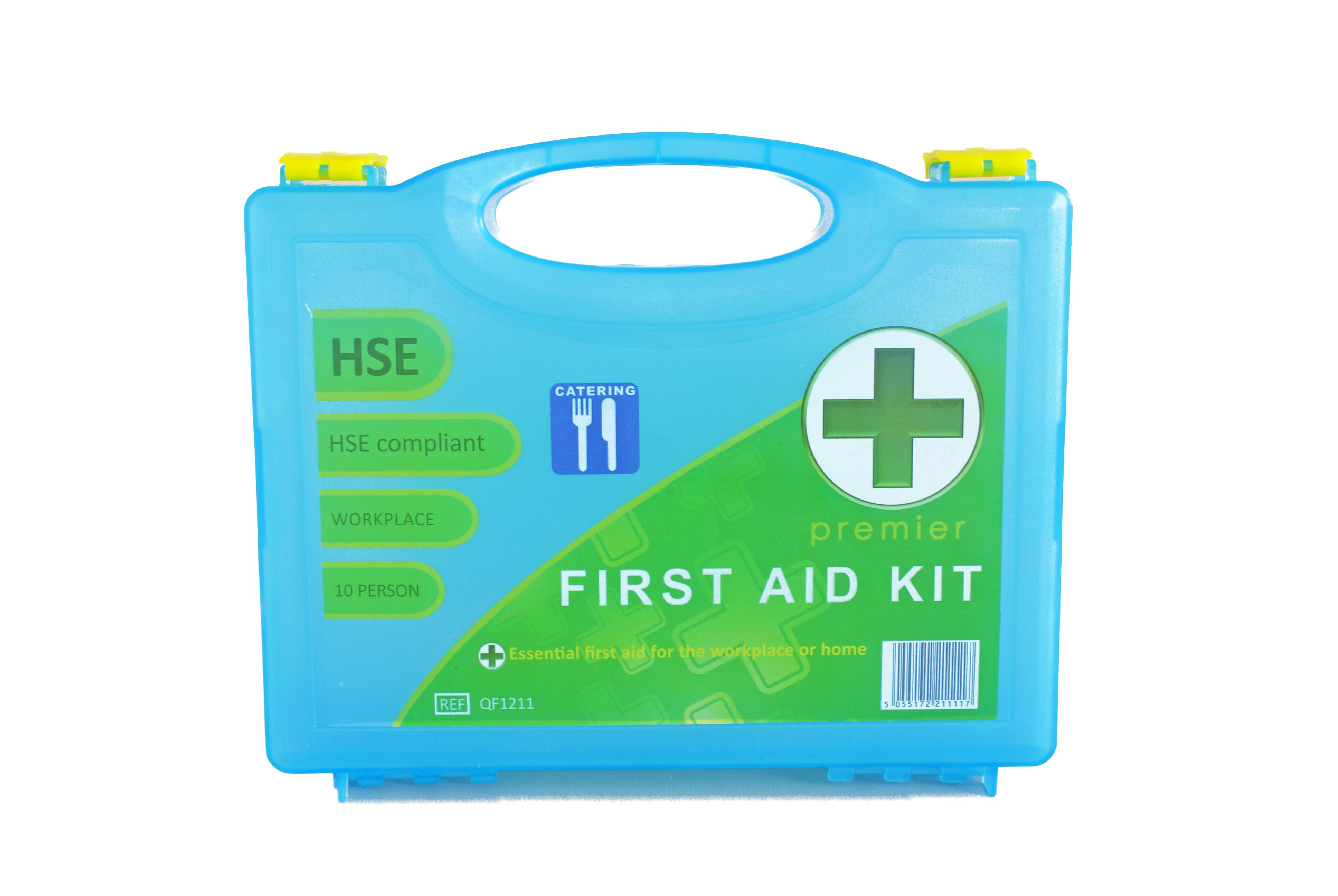 Qualicare HSE Catering Premier 1-10 Person First Aid Kit (Box)