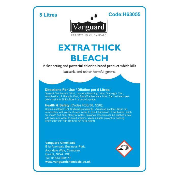 Vanguard Extra Thick Bleach - 5 Litres