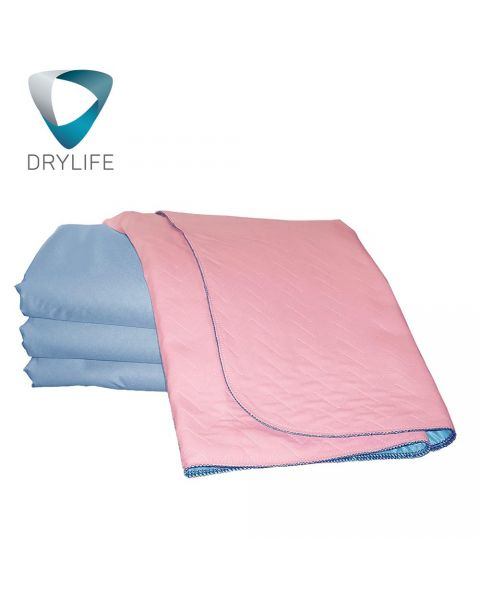 Drylife Washable Bed Pad with Tucks - 85cm x 115cm