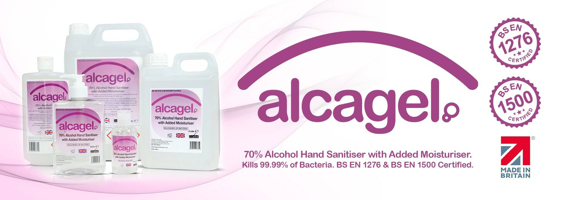 Full Range of Alcagel Available Now!