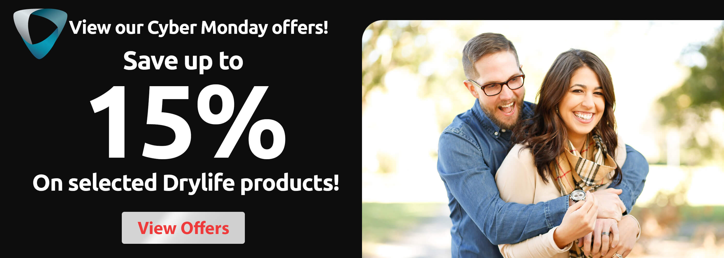 Cyber Monday - Up to 15% off Drylife!